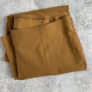SO SLIMMING BY CHICO'S Ankle Pants Ochre Size 3